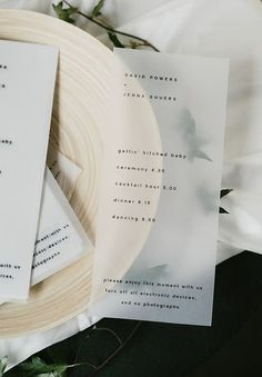 269 best wedding menus programs reception stationery images in