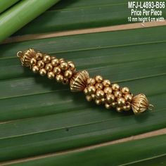 Mat Finish Balls Design Jewellery Making 10 MM Height Width Size Piece) Buy Online Gold Earrings Designs, Gold Jewellery Design, Making 10, Pendant Jewelry, Beaded Jewelry, Gold Pendent, Gold Jewelry Simple, Indian Wedding Jewelry, Antique Jewelry