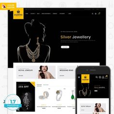 Diamond - Royal Jewellery Shop is Responsive theme and designed for selling cosmetic,fashion Apparel,Wear,Accessories,Clothing store. Theme is responsive and supports all devices,user-friendly and fine-looking