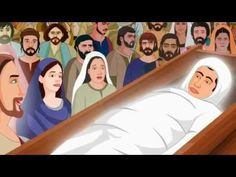 Jesus Raising The Widow's Son Animation Video - YouTube