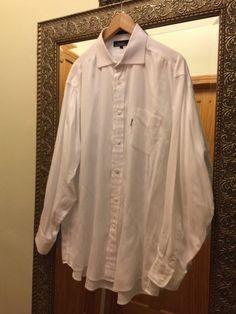 Faconnable Dress Shirt, 100% Cotton, Size: 7-171/2 (L) #FaonnableDressShirt #Faconnable #FaconnableShirt #Mens #DressShirt #Size7-171/2 #SizeL