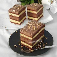 Fun Baking Recipes, Easy Cake Recipes, Sweet Recipes, Cookie Recipes, Dessert Recipes, Sweet Desserts, Easy Desserts, Torta Recipe, Kolaci I Torte