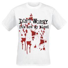 Not My Blood T-shirt - SwedenRockShop