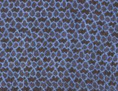 narablog Meiji Handspun Cotton INDIGO KATAZOME PANEL - Narumi-kongata Faux Miura Shibori