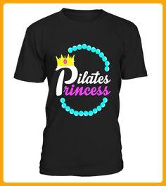 FUNNY PILATES PRINCESS TSHIRT Yoga Fitness Workout Clothes - Pilates shirts (*Partner-Link)