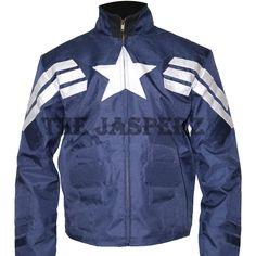 #Mens #CaptainAmerica #WinterSoldier #Blue #Jacket - Biggest #Sale