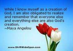 Maya Angelou god