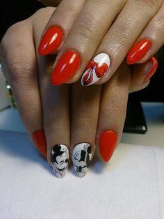 by Anna Faber Holik, Follow us on Pinterest. Find more inspiration at www.indigo-nails.com #nailart #nails #kiss