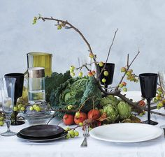 A Florist's Tips for Setting a Beautiful Thanksgiving Table - Bon Appétit