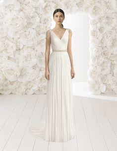 9cdbe75dd0d 24 awesome Vestidos de novia de corte recto images
