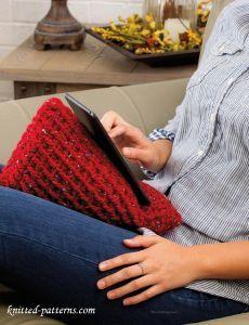 Tablet wedge crochet pattern