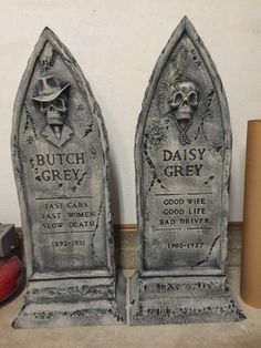 Static: - Some of my tombstones for 2015 Halloween Poems, Halloween Coffin, Halloween Tombstones, Halloween Graveyard, Halloween Images, Halloween Birthday, Halloween 2020, Halloween Town, Halloween Stuff