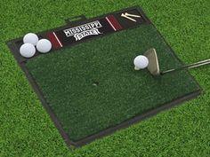 "Mississippi State University Golf Hitting Mat 20"""" X 17"""""