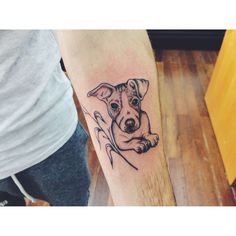 Jack Russell Tattoos Ideas