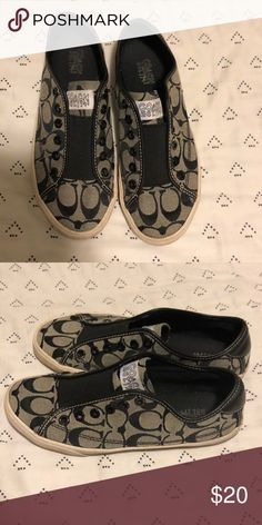 39106c7a0 Coach Cheetah Sneakers Gently used! Worn a handful of times! Laces ...