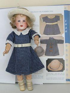MARIE- JOSE Robe de Bleuette D après Model Gautier-Languereau Année 1930