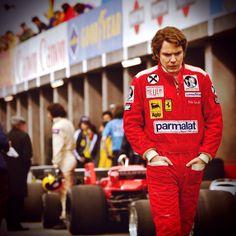 Daniel Bruhl (Lauda) he looks hot in that!
