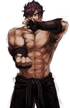 Jin Kazama Tekken art by istdog-rakgaki on Tumblr