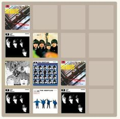 The Beatles | Community Post: 25 Fantastic Themed Versions Of The 2048 Game To Fuel Your Addiction