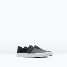 Image 2 of TECHNICAL FABRIC SNEAKERS from Zara