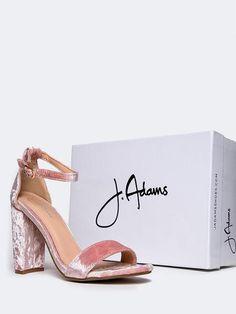 219632d4b0bbd 40 Best J. ADAMS images in 2019   J adams, Block heels, Ankle strap ...