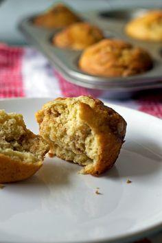 Coffee Cake Swirl Muffins