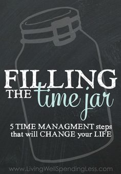 If you've ever struggled with time managment or getting things done, you cannot miss this post! Such great tips plus a free printable workbook that walks you through all five steps.