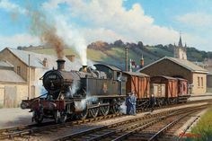 View paintings and fine art prints by renowned British landscape and railway artist - Rob Rowland GRA.