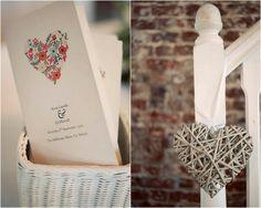 rustic hearts wedding mood board