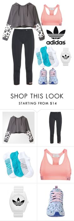 """""""Adidas"""" by ttpuspa ❤ liked on Polyvore featuring adidas and adisas"""