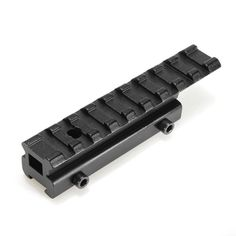 Hot Dovetail Weaver Picatinny Rail Adapter Extend 11mm to 20mm  Scope Mount Black #Affiliate