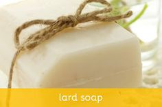 Lard Soap Recipe and Homemade Soap Bars, Homemade Soap Recipes, Lemon Soap, Honey Soap, Oatmeal Soap, Soap Making Recipes, Exfoliating Soap, Diy Shampoo, Milk Soap