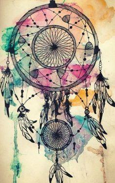 Quebrando a Rotina: Tattoo Design: Dreamcatcher ou Filtro dos Sonhos + Significado/História.