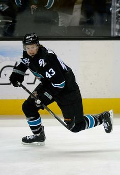 San Jose Sharks forward John McCarthy (Nov. 7, 2013).
