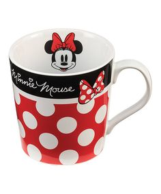 Another great find on #zulily! Disney Minnie Mouse Mug #zulilyfinds