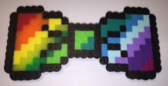 RAINBOW 8-BIT BOW TIE - available on therubypig.com