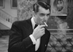 cary grant smoking