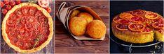 Das sizilianische Menü: Tomatentarte, Arancini, Orangenkuchen