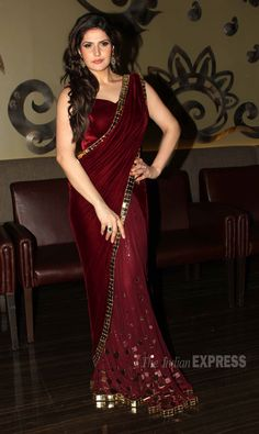 'Veer' actress Zarine Khan is all about weddings! #Bollywood #Fashion #Style