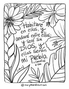Garden Living + a 2 Corinthians Bible Coloring Page in English and Spanish Bible Verse Coloring Page, Cute Coloring Pages, Coloring Books, Bible Story Crafts, Bible Crafts For Kids, Printable Bible Verses, Bible Verses Quotes, Children's Bible, Verses For Kids
