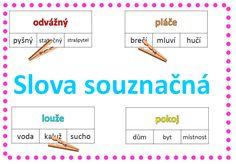 72 kartiček k procvičování slov stejného nebo podobného významu Map, Children, School, Young Children, Boys, Location Map, Kids, Maps, Child