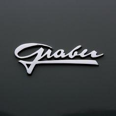 Beautiful & elegant #logo design for the 1954 Aston Martin DB 2/4 Graber Drophead by zuffi hausen