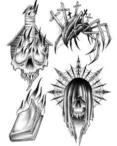 Latest Tattoo Design, Tattoo Designs, Tattoo Ideas, Tattoo Drawings, Art Drawings, Tattoo Art, Blackwork, Ozzy Tattoo, Tradional Tattoo