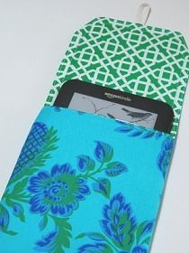 Kindle Case Tutorial....maybe for mom for Mama's Day