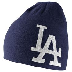 741403c304a Los Angeles Dodgers Nike MLB Nike Dri-Fit Knit Hat (Blue)