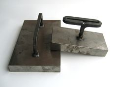Steel weights  - I would love to have a set of these.