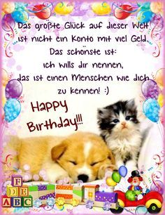 The big luck in this world is not an account with a lot of money - Garden Ideas Happy Birthday Meme, Birthday Quotes, Birthday Wishes, Birthday Cards, France, Happy People, Happy Quotes, Happiness Quotes, Party