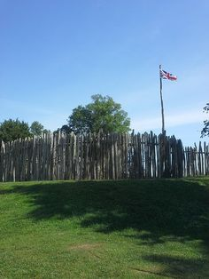 Fence at Jamestown Fort, Jamestown, Virginia