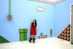 Habitación de Super Mario Bros  geek  nintendo  imagen
