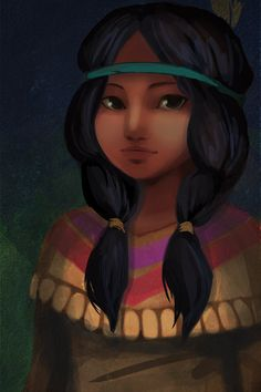 Princess Tiger Lily. The forgotten Disney Princess